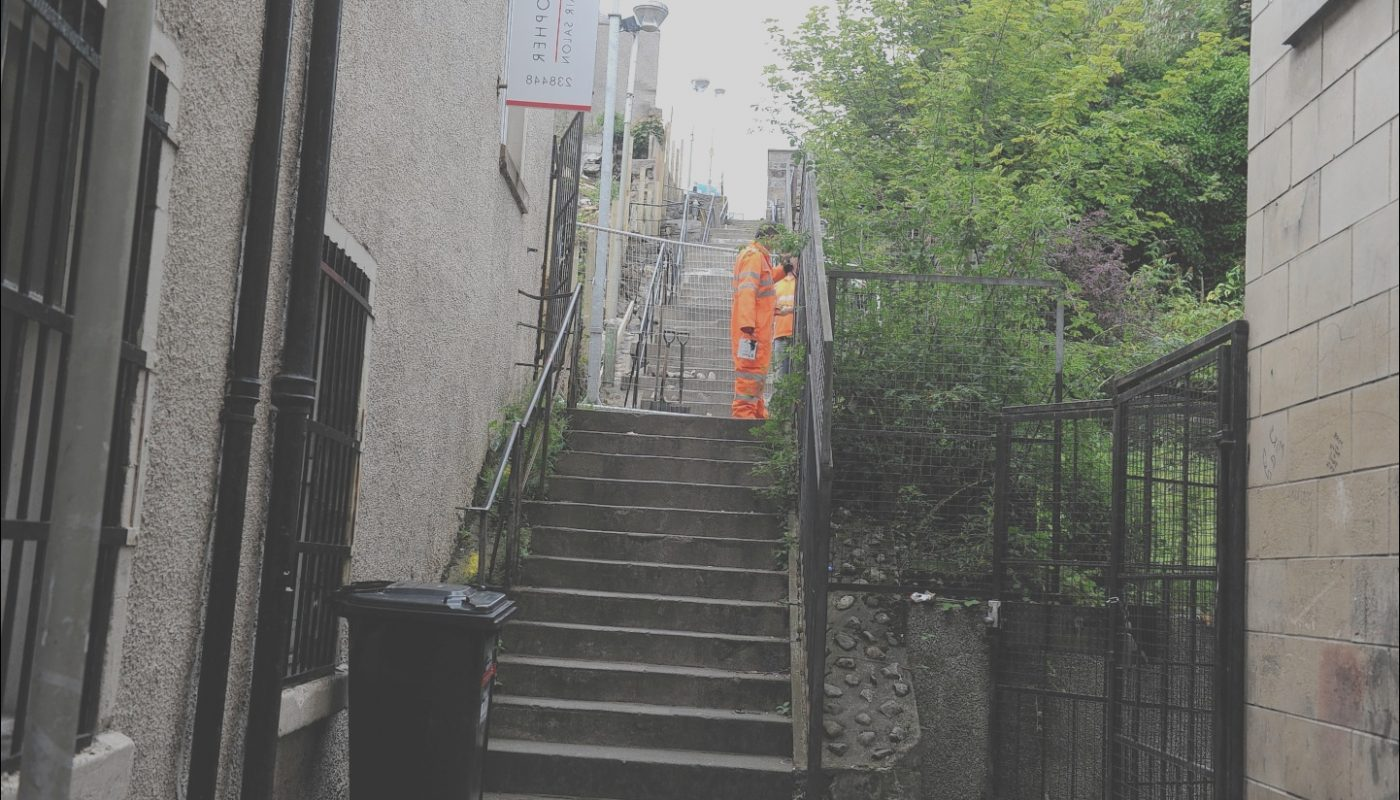 Raining Stairs Parking Inverness Beautiful Well Known Inverness City Centre Path to Close for Three