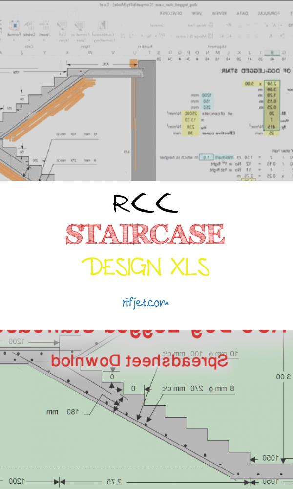 9 Classic Rcc Staircase Design Xls Photos