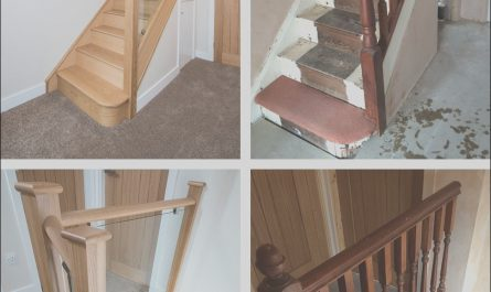 Renovating Stairs Ideas Inspirational before and after Glass and Wood Staircase Renovations