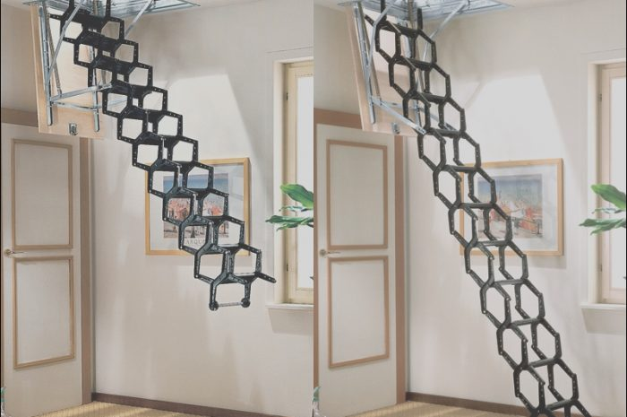 9 Marvelous Retractable Stairs Design Photography