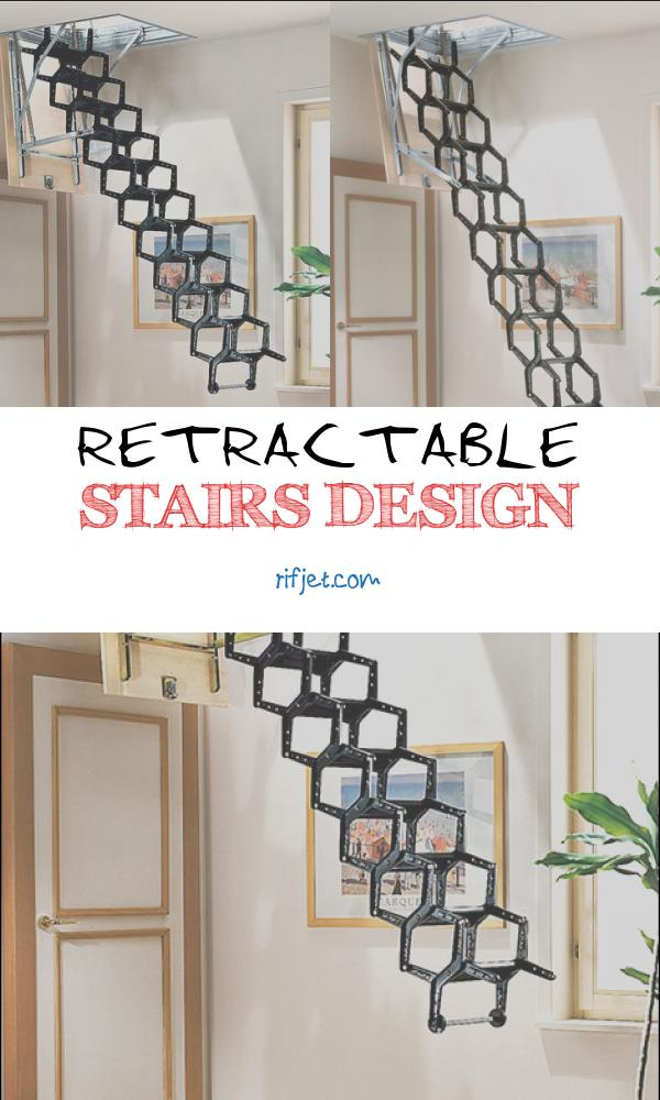 Retractable Stairs Design Unique Retractable Staircase