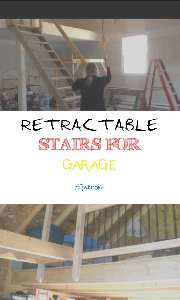 15 Various Retractable Stairs for Garage Photos