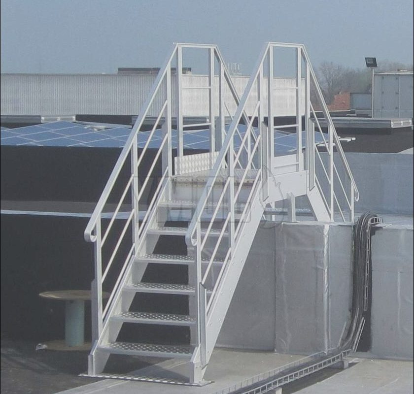 Roof Crossover Stairs Luxury Crossover Stairs Ladders and Platform