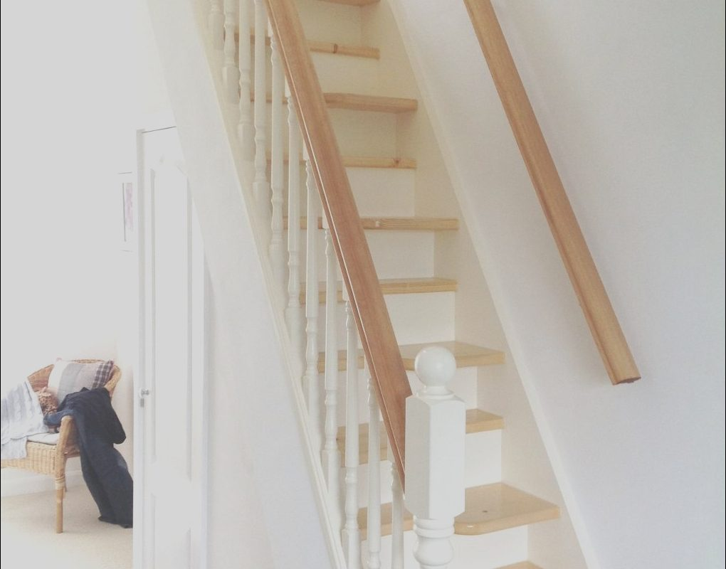 Roof Space Stairs Best Of White and Pine Spacesaver Stairbox