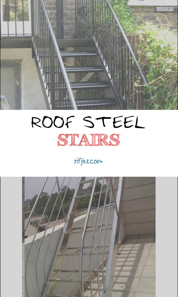 Roof Steel Stairs Unique Steel Staircase London Hammersmith Arc Fabrications