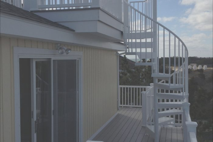 13 Peaceful Rooftop Deck Stairs Photos