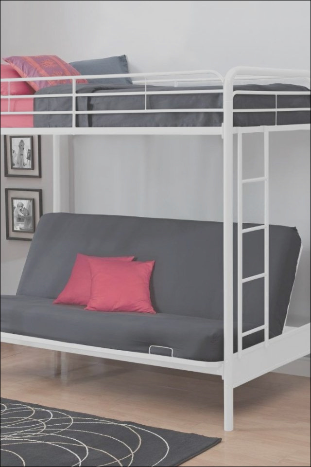 black bunk beds with stairs