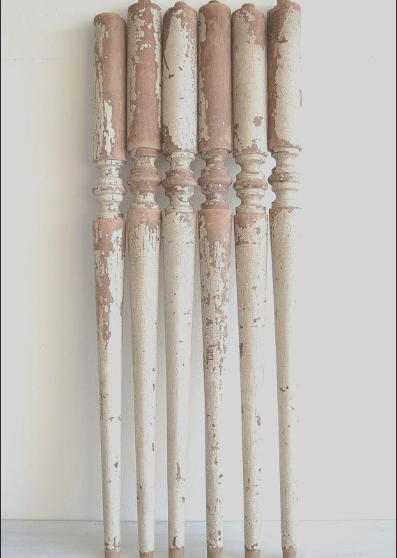Spindle Sets for Stairs Inspirational Set Of 6 Salvaged Antique Balusters Spindles by