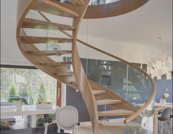 11 Magnificent Spiral Stairs Design Photography