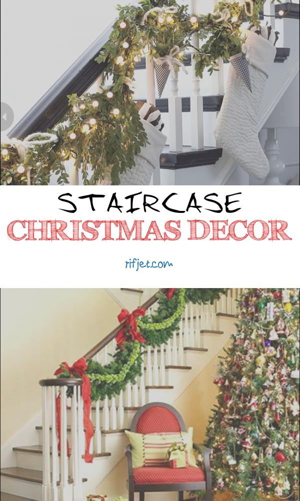 Staircase Christmas Decor Elegant 100 Awesome Christmas Stairs Decoration Ideas Digsdigs