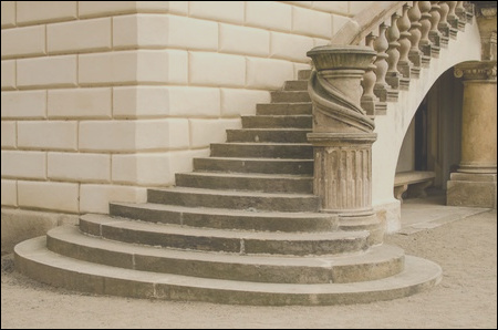 the evolution of the staircase