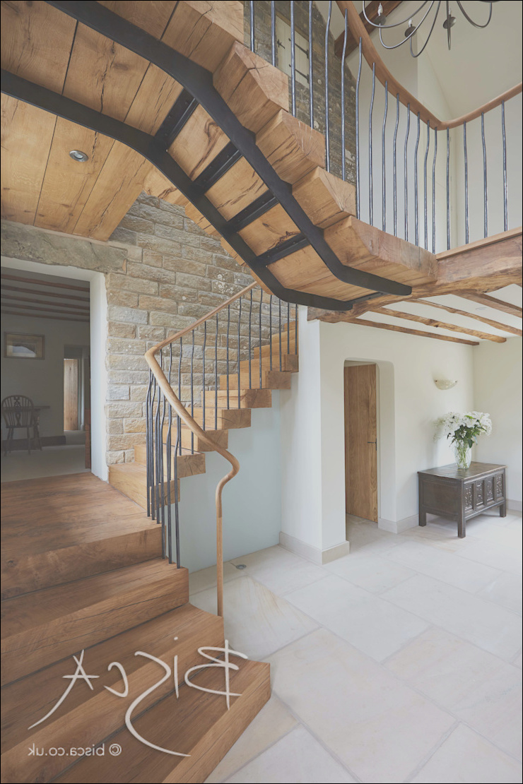 staircase for farmhouse restoration yorkshire