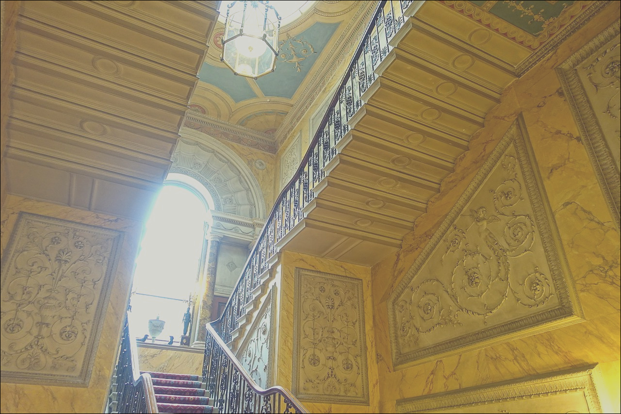 File Main Staircase Harewood House West Yorkshire England DSC