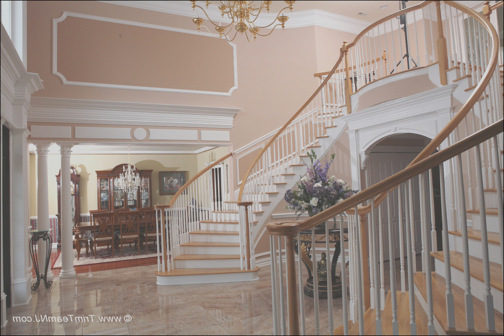 wainscot and picture frames traditional staircase new york phvw vp