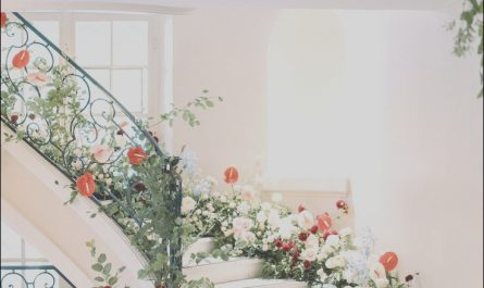 Staircase Flower Decor Lovely 15 Pretty Perfect Floral Staircase Decor