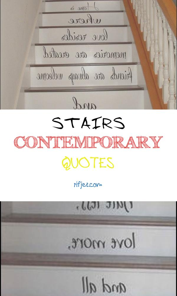Stairs Contemporary Quotes Best Of Wall Decals Quote Family is forever Staircase Stairway