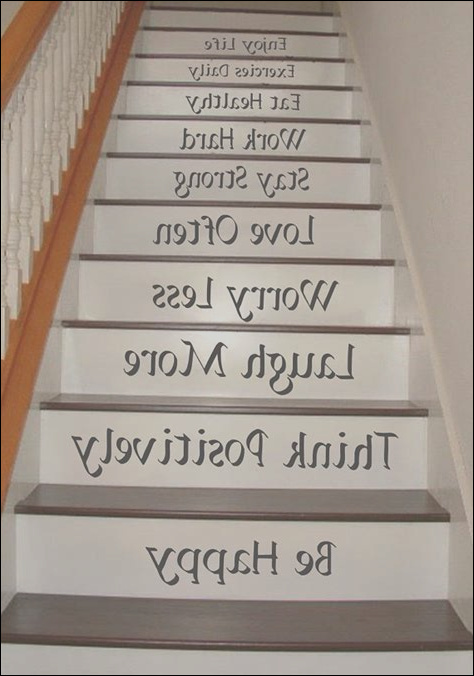 best 5 stairs painted quotes