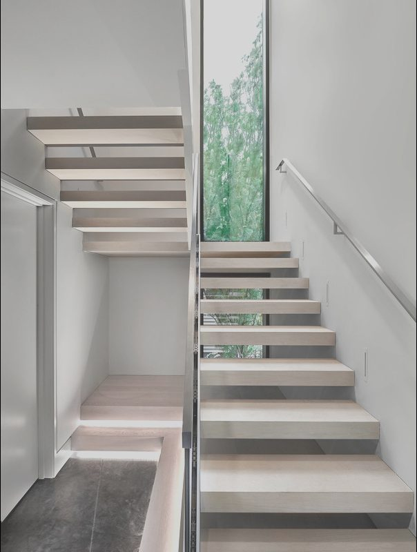 Stairs Decor Zinc Fresh Zinc House Stairs Contemporary Staircase Chicago
