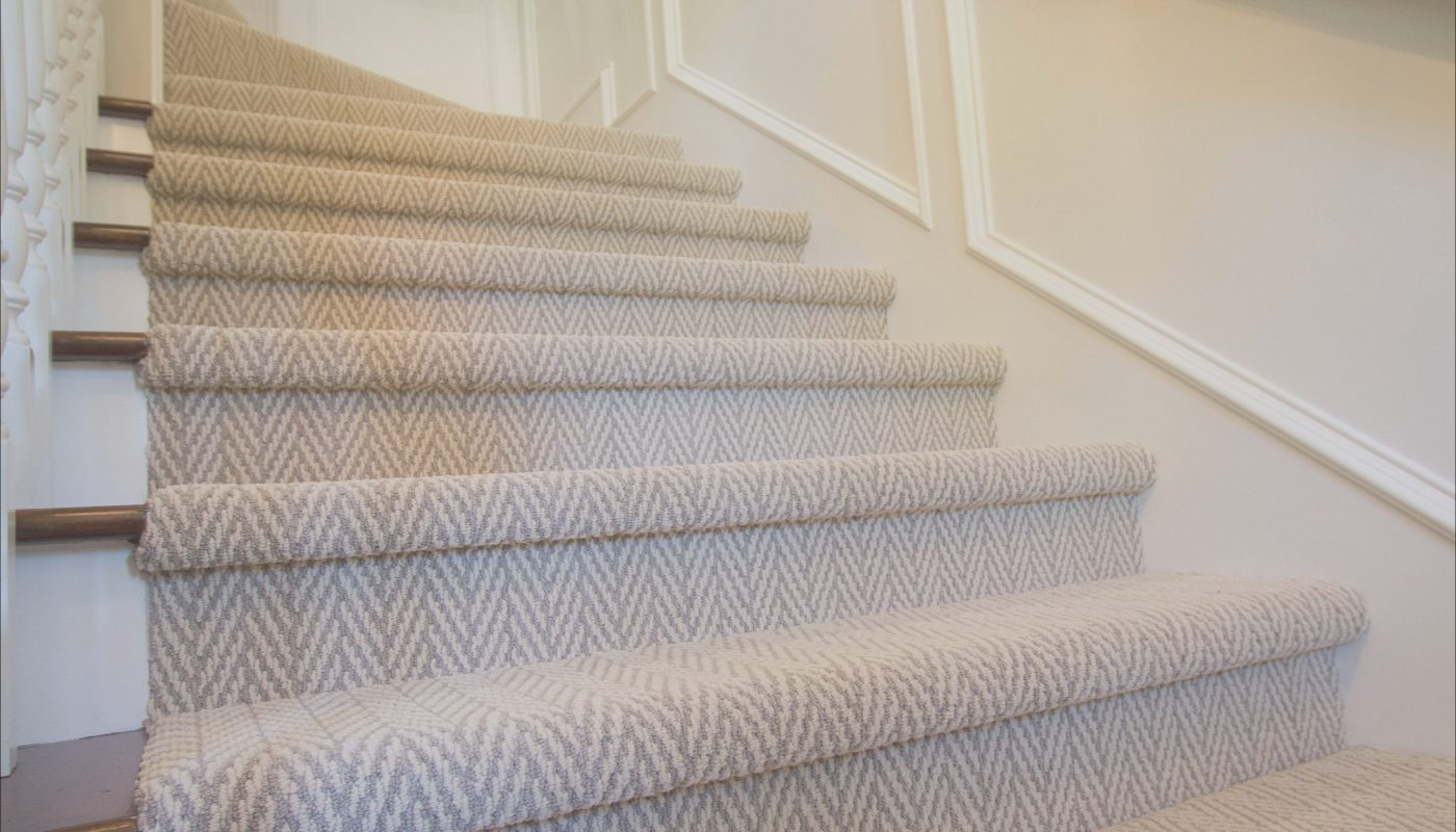Stairs Design Carpet Best Of Traditional Stairs with Herringbone Carpet by Studio B