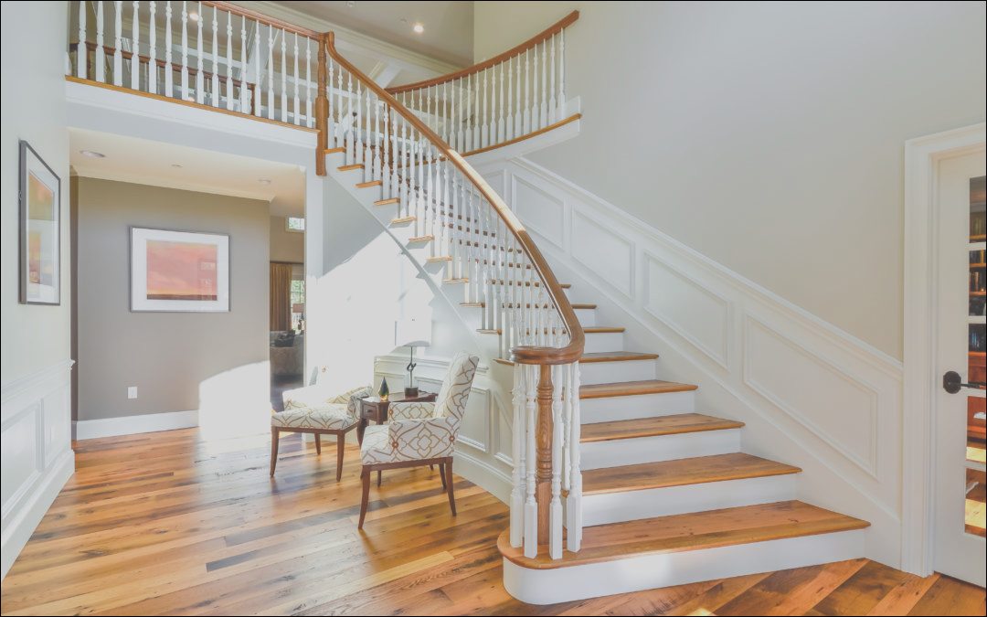 make your staircase a design element