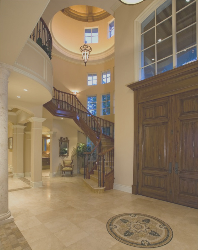 15 extremely luxury entry hall designs with stairs