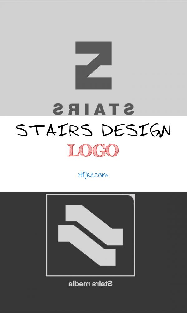 Stairs Design Logo Fresh Stairs Logo Presentation On Behance