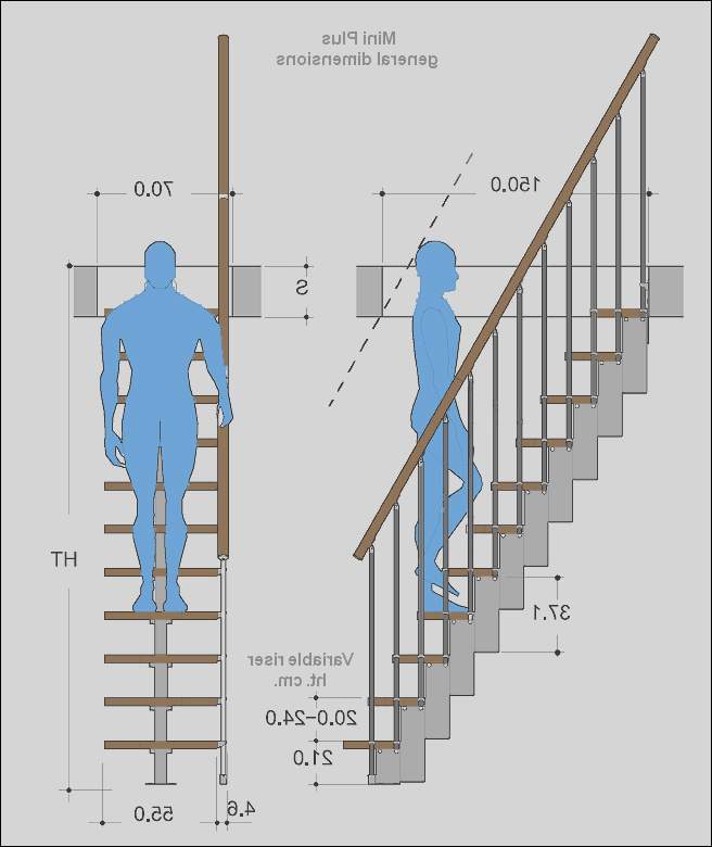 stairs design dimensions