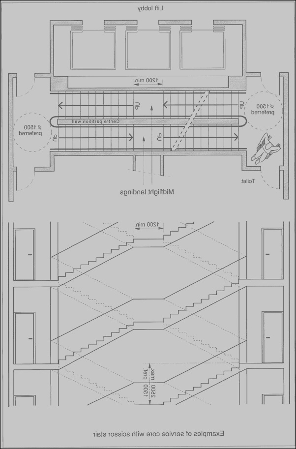 10 authentic stairs design dimensions images