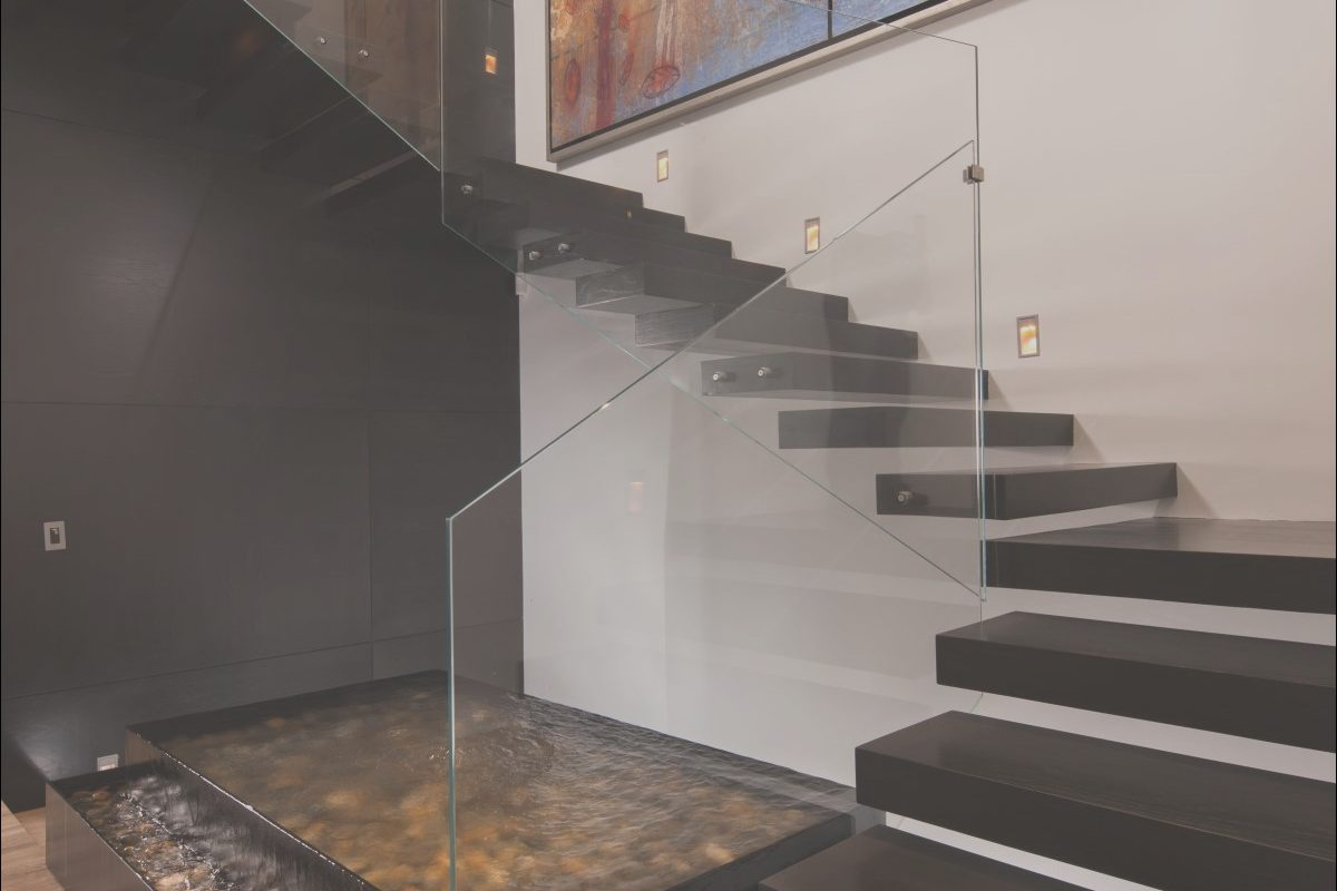 Stairs Design On Wall Lovely 20 Glass Staircase Wall Designs with A Graceful Impact