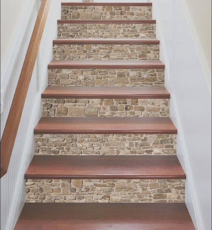 Stairs Design with Tiles Beautiful 3d Vintage Brick 669 Marble Tile Texture Stair Risers