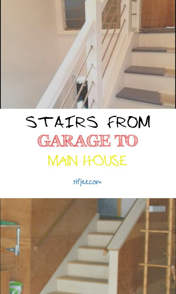 14 Best Stairs From Garage to Main House Photography