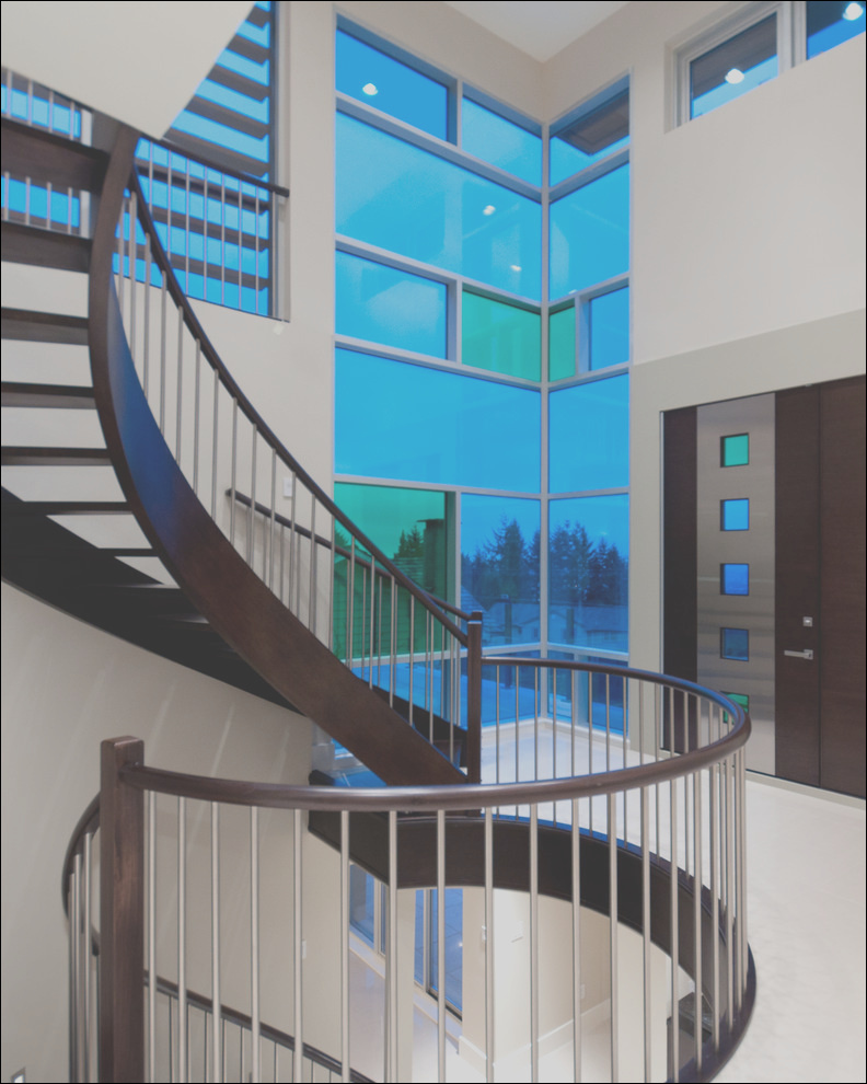 recent work contemporary staircase vancouver phvw vp