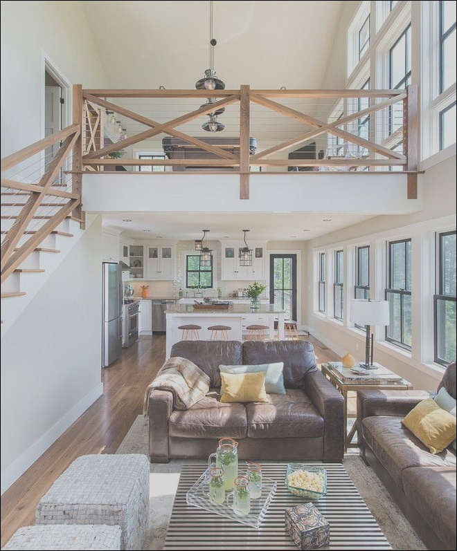 54 awesome big living room design ideas stairs