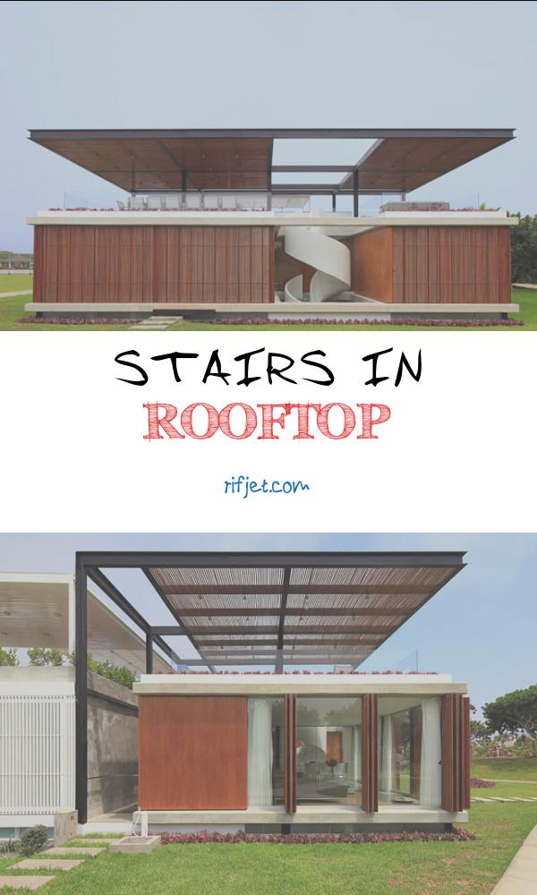 Stairs In Rooftop Fresh the Spiral Stairs In This Home Lead to An Amazing Rooftop