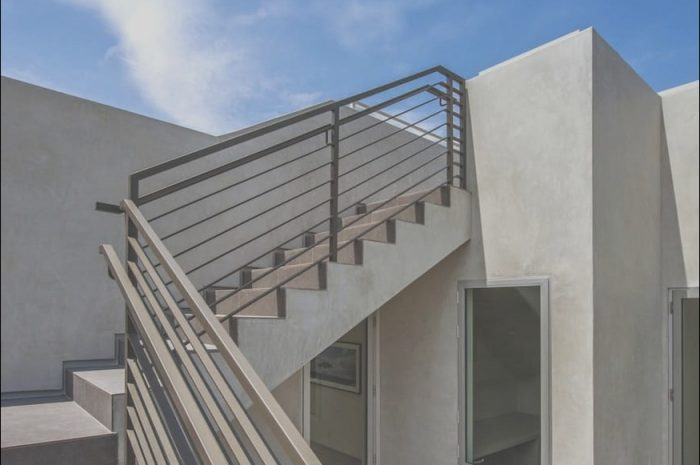 9 Wondeful Stairs On Rooftop Image