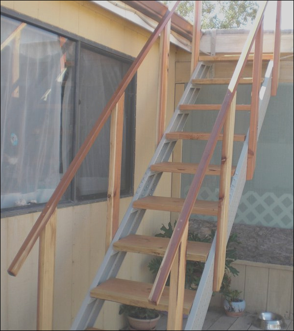 roof stairs