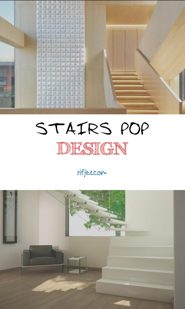 Stairs Pop Design Luxury From Winter to Spring Clubhouse Tianwen Sun