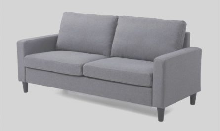 Stairs sofa Home Depot Beautiful Unbranded Liliana 73 5 In Gray Linen 2 Seater Lawson sofa
