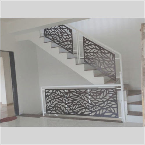 mild steel stairs grill