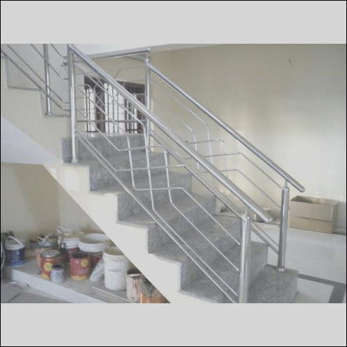 stainless steel grill stair railing