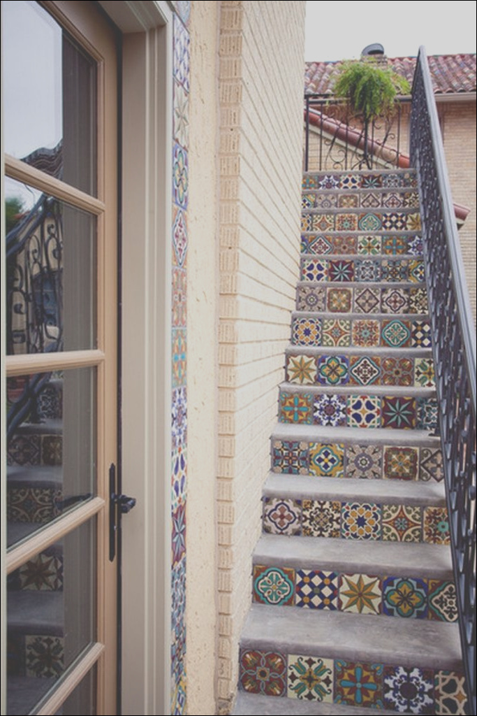 amazing tiled staircases