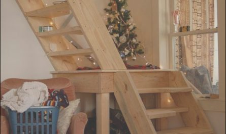 Stairs to Loft Ideas Lovely Bungalow Barn Update Loft Stairs