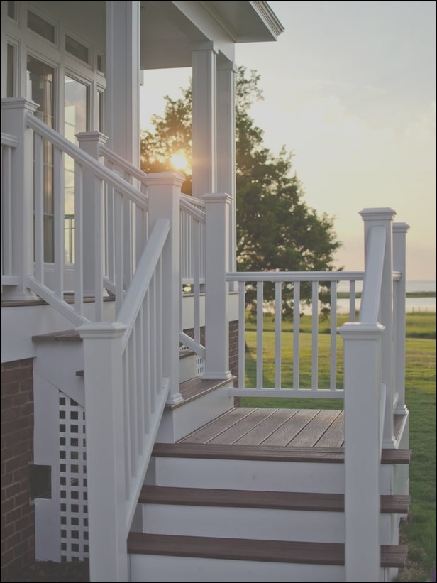 outdoor deck and stairs