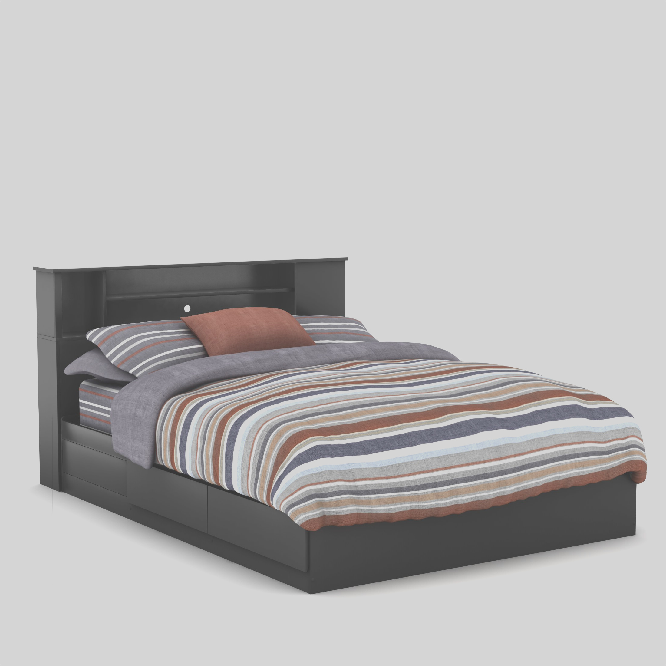 South Shore Fusion Queen Mates Bed 900 TH3411