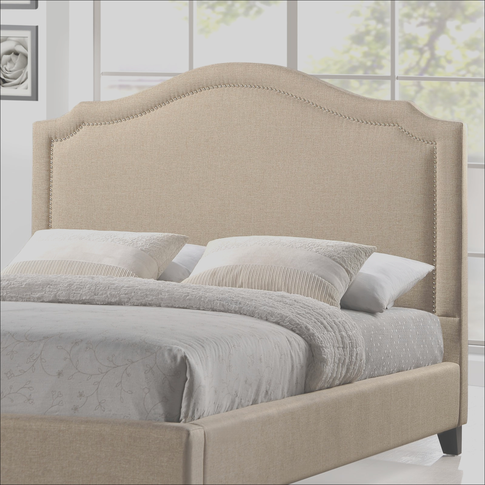 Modway Queen Upholstered Platform Bed FOW1755