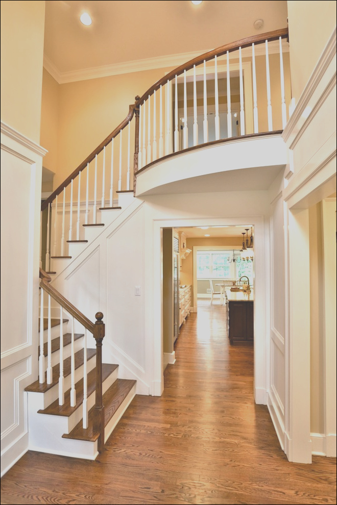 open stairs with custom wood paneling traditional staircase new york phvw vp