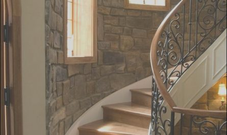 Stone Staircase Interior Design New Interior Stone Wall Ideas – Design Styles and Types Of Stone