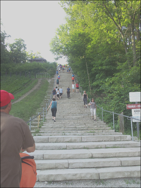 swallow cliff stairs