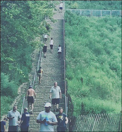 Attraction Review g d Reviews Swallow Cliff Stairs Palos Park Illinois