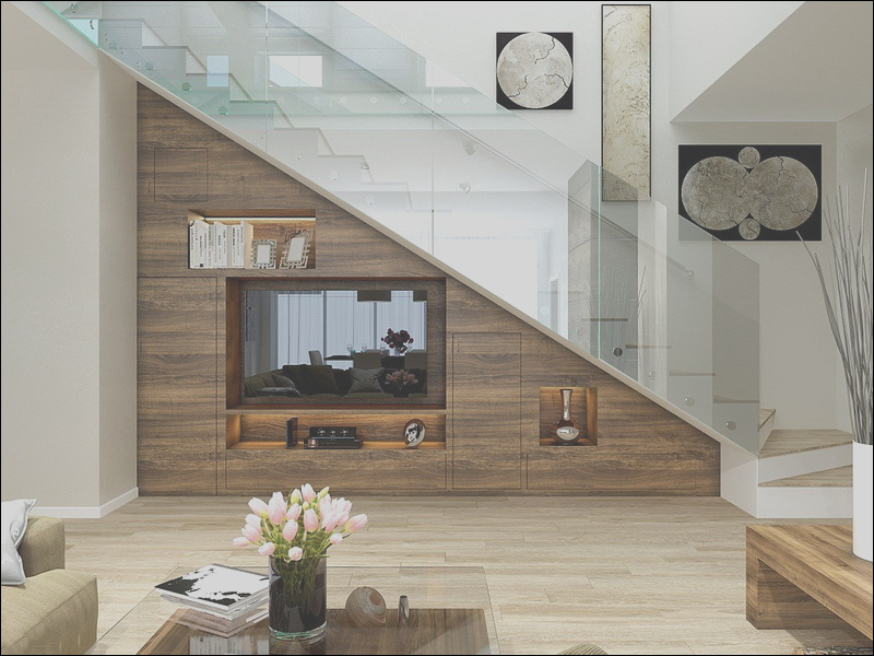 under stairs living room to drive you crazy